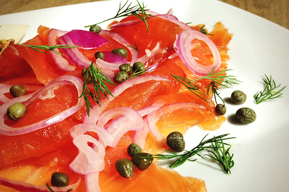 Gravlax Cured Salmon